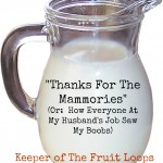 Thanks for the Mammories
