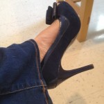 I Recommend Wearing Blue Suede Shoes To Your Mammogram (Seriously)