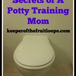 Secrets of A Potty Training Mom