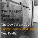 The Keeper Goes To A Video Shoot. Yes, Really.