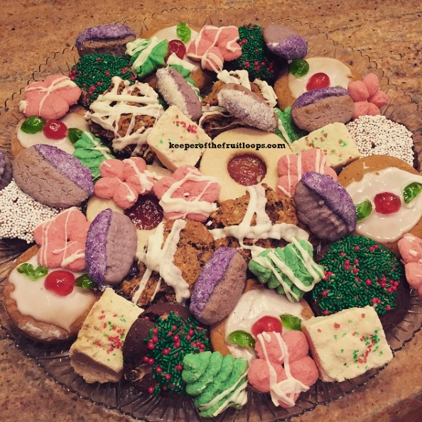 Christmas Cookie Trays.The Year I Didn T Make Christmas Cookies